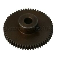 45# Steel 60T Worm Wheel Motor Gear 0.5 Modulus 31x10x5mm for DIY Accessory