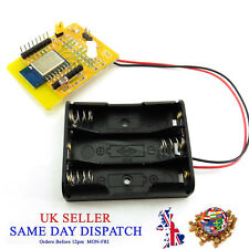 ESP8266 valutazione WIFI Test Board ESP-12 Kit Porta Batteria Supporto Telefono di prova