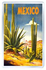 MEXICO VINTAGE REPRO FRIDGE MAGNET SOUVENIR IMAN NEVERA