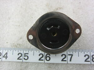Hubbell HBL 7487 15A 125/250V Midget Flanged Receptacle ML-3R, New