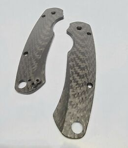 Advanced Solid 3k Carbon Fiber Scales for Spyderco Paramilitary 2 Knife c81 PM2