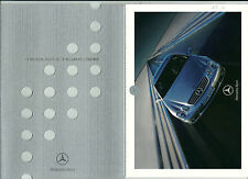2000 MERCEDES CL Coupé brochure français