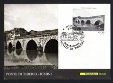 Italy 2014: Tiberius Bridge, Rimini-Postcard Official Poste Italiane