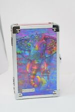 VAULTZ LOCKING SUPPLY BOX EMBOSSED psychedelic elephant art ROYCE Hard Case