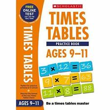 Workbook Ages 9-11 (National Curriculum Times Tables) - Paperback / softback NEW