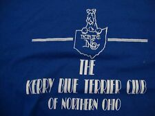 Vintage  The Kerry Blue Terrier Club Of Northern Ohio Dog show T Shirt Size XL