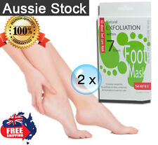 2 x Shifei Foot & Nail Moisture Baby Foot Dead Skin Exfoliating Peel Mask G