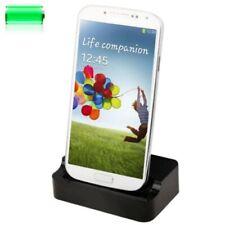 Samsung Galaxy S4 Ladegerät Tischladestation Data Dock Ladestation Schwarz