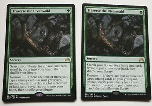 MTG Traverse the Ulvenwald - Shadows Over Innistrad Rare x 2