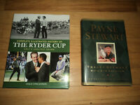 2 Golf Books Complete Illustrated History Ryder Cup Nicklaus Tiger Payne Stewart