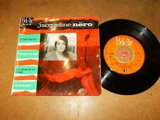 JACQUELINE NERO - EP FRENCH BEL AIR 211021  / LISTEN - FRENCH JAZZ POPCORN