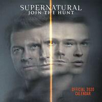 Official Supernatural 2020 Calendar, Featuring Jensen Ackles & Jared Padalecki
