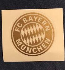 FCB - FC Bayern München Aufkleber - Neu ! Gold