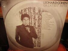 1975 The Best Of LEONARD COHEN UK Import LP CBS 69161 VG+/VG