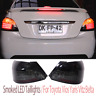 For Toyota Yaris NCP93 Sedan 2007-2011 Pair LED Smoked Tail Lights Express