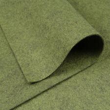Woolfelt CAMOUFLAGE ~ 22 cm x 90 cm / Quilting Lana Feltro VINTAGE VERDE ESERCITO tessuto