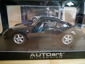 1:18 Autoart 78134 Porsche 911 993 Carrera 1995 Green Metallic