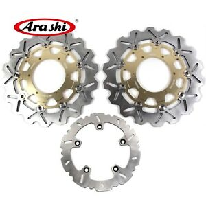 Front Rear Brake Disc Rotors For BMW F700GS 13-15 F 800 GS ADVENTURE 2009 - 2015