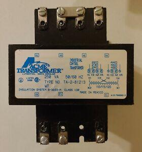 Acme TA-2-81213 Control Transformer - 250VA - 240/480VAC to 120VAC
