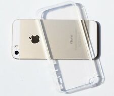 Hot Clear Transparent Crystal Soft TPU Silicone Gel Cover Case for iPhone 5/5s