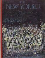 1953 New Yorker July 4 -End of the Campground Fireworks