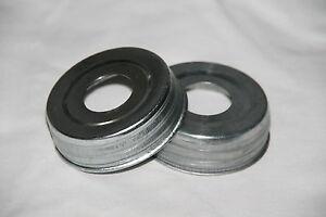 """Mason Jar Lid Pre-Drilled 1-1/16"""" for your Soap Dispenser Pump or DIY Jar Crafts"""