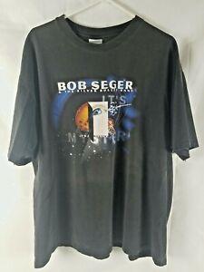 Bob Seger Concert T Shirt 1995 Its A Mystery Tour Classic Rock Band XXL
