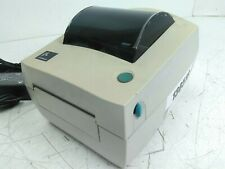 Zebra label printer LP 2844 (used, functional, with charger and USB cord)