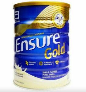 Original Abbott Ensure Gold Complete Nutrition Milk Powder Vanilla DHL EXPRESS