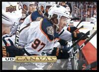 2019-20 Upper Deck UD Canvas #C84 Connor McDavid - Edmonton Oilers