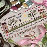 Little Dove Friendship Sampler 14ct Cross Stitch Kit