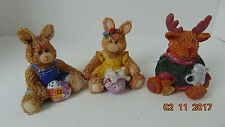 LOT OF 3 K'S COLLECTION TEDDY BEARS