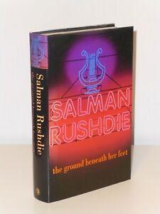 1st Print The Ground Beneath Her Feet Salman Rushdie Jonathan Cape 1999 UK H/B