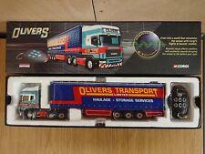 Corgi CC12937 Sight & Sound Scania Topline Olivers Trans. Ltd Ed. 0002 of 1410