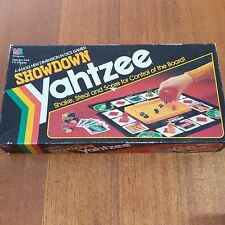 Yahtzee Showdown Board Game 1991 Complete