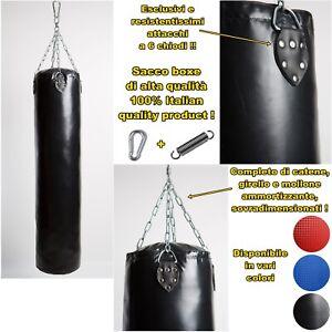 sacco boxe professionale 100 120 150 180 cm 30 40 50 kg pieno muay thai kick mma