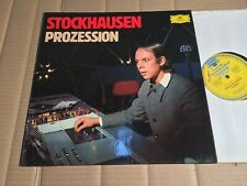STOCKHAUSEN - PROZESSION - LP  - GERMANY 1975