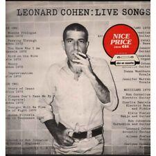 Leonard Cohen Lp Vinyle Live Chansons / CBS 32272 Neuf