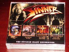 Sinner: The Nuclear Blast Recordings 4 CD Box Set 2018 Dissonance Prods. UK NEW