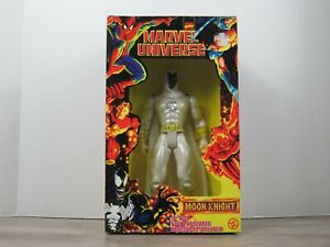 Marvel Universe Moon Knight Fully Poseable 10 Inch Figure Toy Biz New