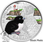 Canada 2014 $20 Baby Animals - Atlantic Puffin Silver Coin