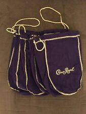 Crown Royal Purple Bags - Lot Of 5