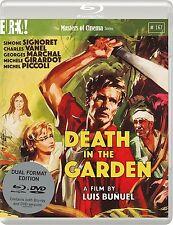 DEATH IN THE GARDEN di Luis Bunuel con S. Signoret BLURAY+DVD in Francese NE