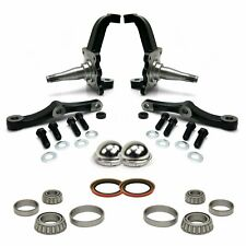 Pro Touring Stock MII & Pinto Spindles with Bearings, Seals and Dust Caps