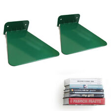 Invisible Concealed Floating Metal Bookshelf Wall Mounted Storage Book Display.