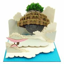 Studio Ghibli Mini Laputa Castle In The Sky Floating Paper Craft From Japan