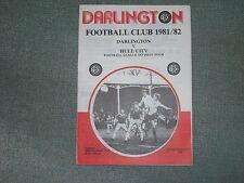 DARLINGTON  V  HULL CITY  (DIV 4)  26-12-81