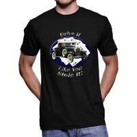 Ford Model A Drive It Men`s Dark T-Shirt