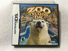 Zoo Tycoon Nintendo DS Game Complete Animals