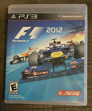 F1 Formula 1 2012 Sony Playstation 3 PS3 ~ Complete! Excellent! Fast Shipping!